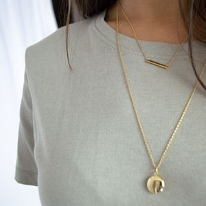 Jewelry - 24K gold locket necklace